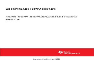 ADCS7478AIMF/NOPB.pdf