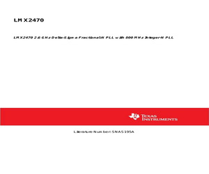 LMX2470SLEX/NOPB.pdf