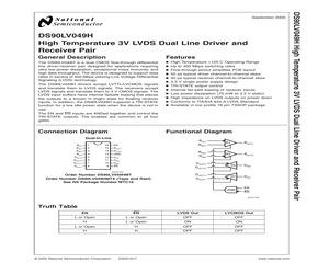 DS90LV049HMTX/NOPB.pdf