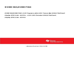 DS90C363MTD/NOPB.pdf