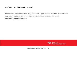 DS90C363MTDX/NOPB.pdf
