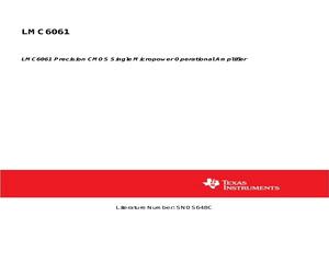 LMC6061IMX/NOPB.pdf