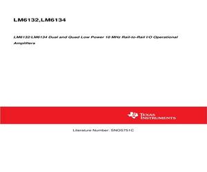 LM6134BIMX/NOPB.pdf