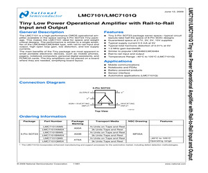 LMC7101BIM5/NOPB.pdf