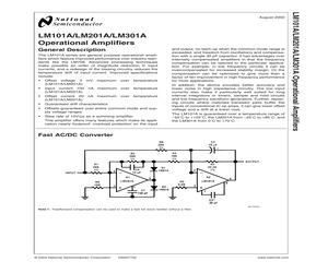 LM301AN/NOPB.pdf