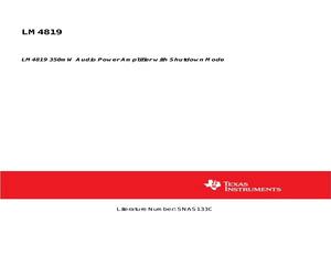 LM4819MX/NOPB.pdf