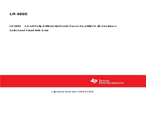LM4895ITP/NOPB.pdf