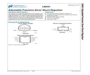 LM431AIM3N1E/NOPB.pdf