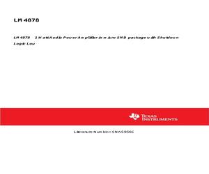 LM4878IBP/NOPB.pdf