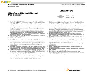 MSC8156SAG1000B.pdf