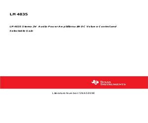 LM4835MT/NOPB.pdf