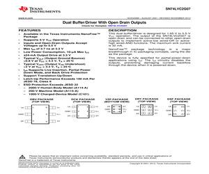 SN74LVC2G07DCKRE4.pdf
