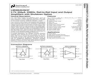 LMH6647MF/NOPB.pdf