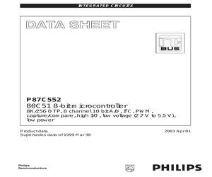 P87C552SBAA,512