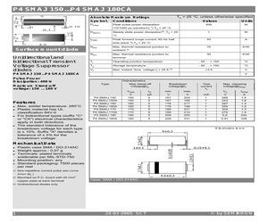 P4SMAJ180A.pdf