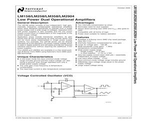 LM358AN/NOPB.pdf