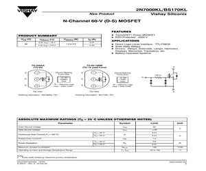 2N7000KL.pdf
