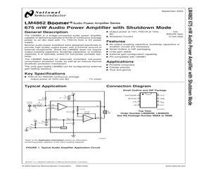 LM4862MX/NOPB.pdf