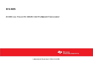 DS485M/NOPB.pdf