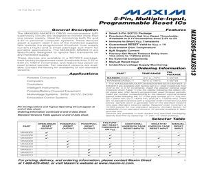 MAX6311EUK00D3+T.pdf
