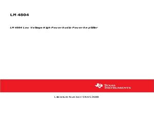 LM4804LQ/NOPB.pdf