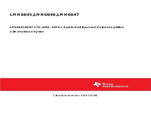 LMH6646MM/NOPB.pdf