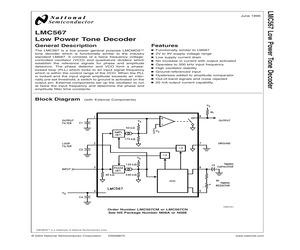 LMC567CMX/NOPB.pdf