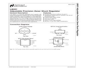 LM431CCM/NOPB.pdf