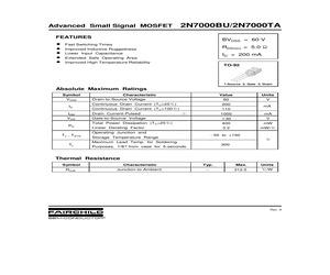 2N7000TAD74Z.pdf