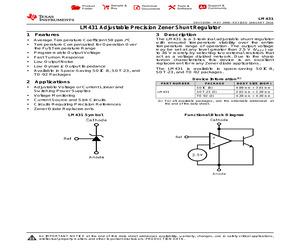 LM431AIM3X/NOPB.pdf