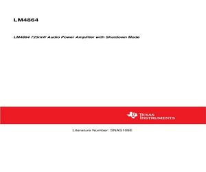 LM4864MM/NOPB.pdf