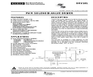DRV101TG3.pdf