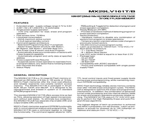 MX29LV161BXBI-70R.pdf