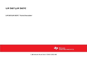 LM567CN/NOPB.pdf