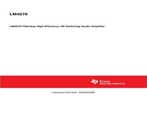 LM4670ITLX/NOPB.pdf